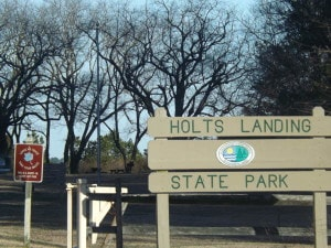 The Friends of Holts Landing State Park are ready to get started on trail clean-up projects this winter and spring. (Photo by: Dotty LeCates)