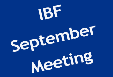 September Meeting