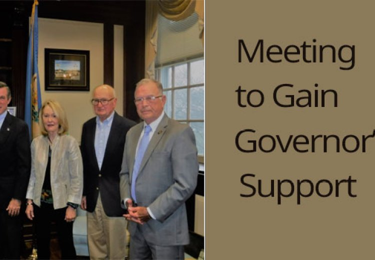 IBF Board of Directors met with Gov. Carney