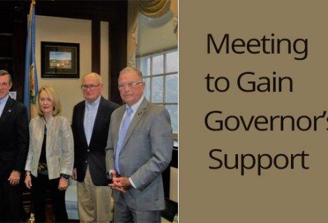 IBF Board of Directors met with Gov. Carney