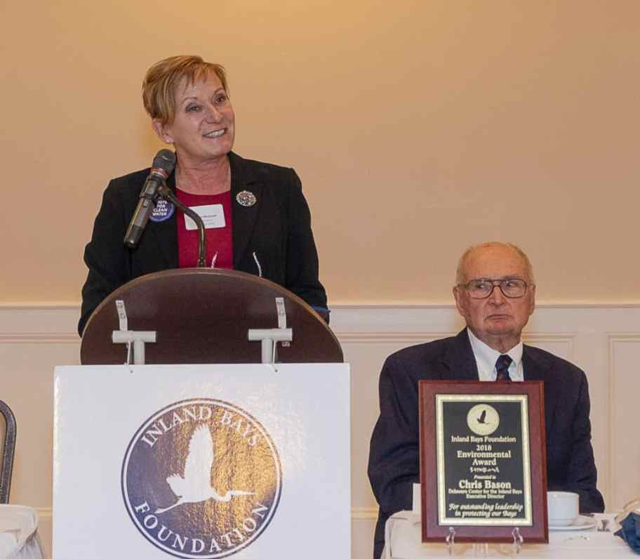 Inland Bays Foundation dinner Karen BcGrath, Sussex County Regional Director, Office of U.S. Senator Tom Carper
