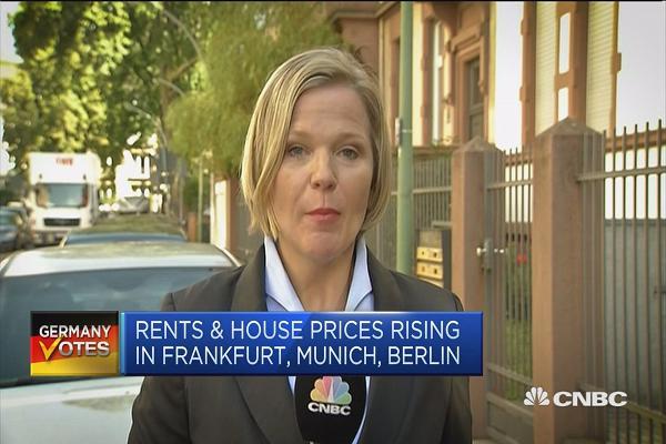German housing market is a headache for Angela Merkel's government