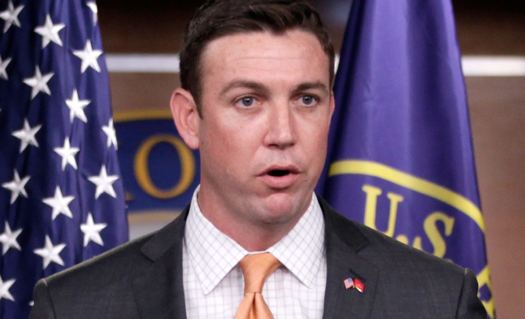 Duncan Hunter's in a safe district. So why are Democrats targeting him?