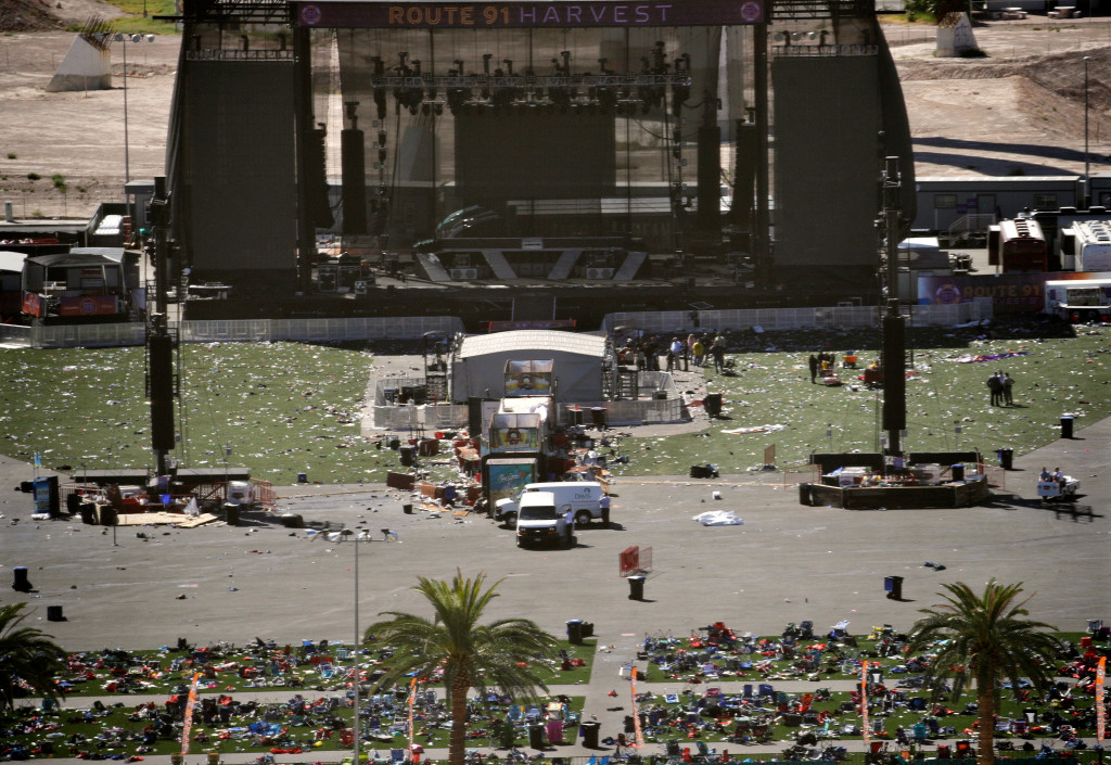 Concert promoter Live Nation responds to the deadly shooting at its Route 91 Harvest festival