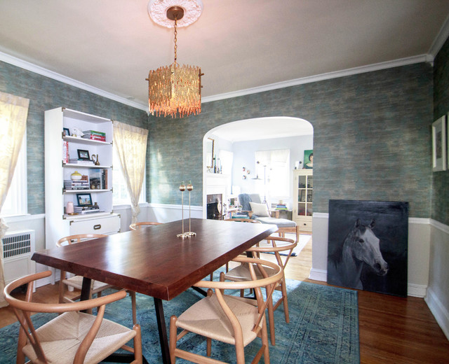 My Houzz: Color and Pattern at Play in a 1924 East Coast Home (37 photos)