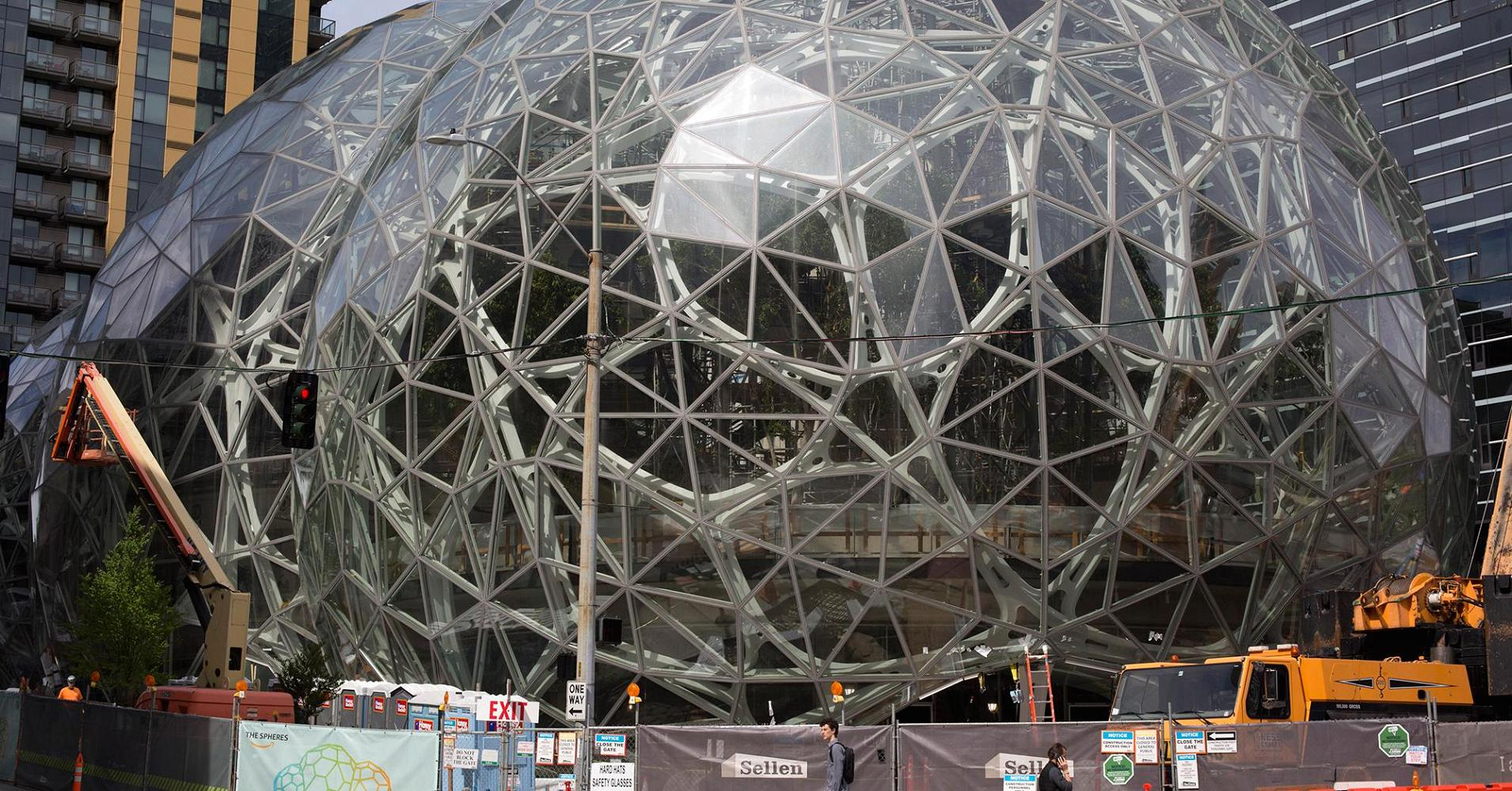 Amazon's Seattle campus is using a data center next door as a furnace