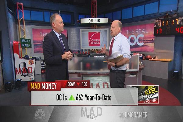 Owens Corning CEO says roofing is booming as home equity improves