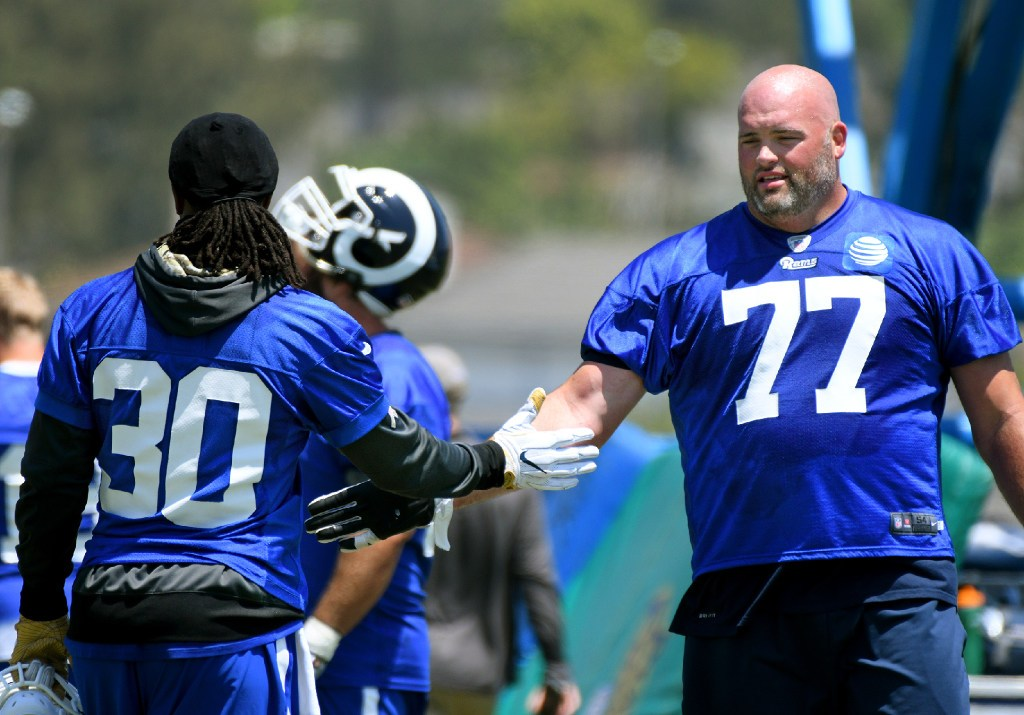 Bonsignore: Rams are all right with right side of the offensive line stabilized