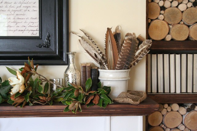 Dress Up Your Mantel for Fall and Thanksgiving (11 photos)