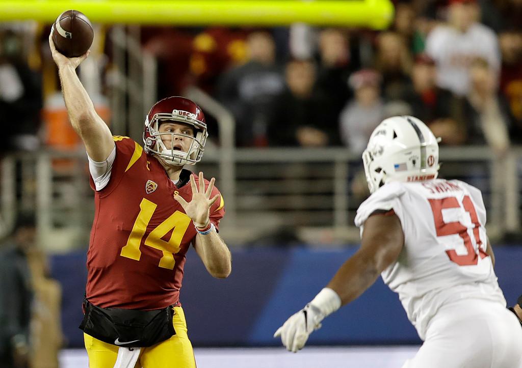 USC quarterback Sam Darnold's career may have come full circle