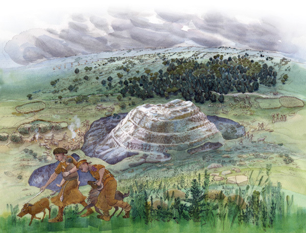 Neolithic-Silbury