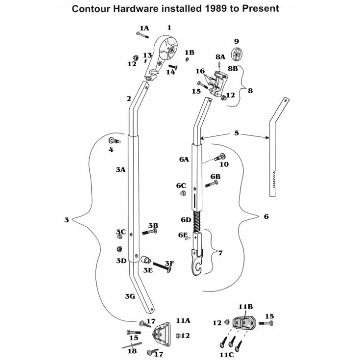 Zip Dee Patio Awning Parts 1989+ - Inland RV
