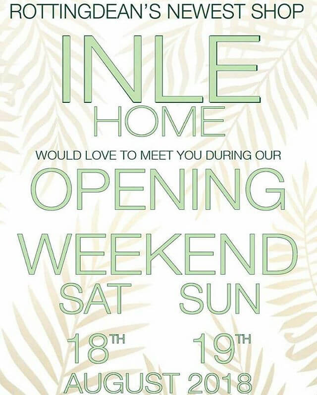 Pop in and say hello 😊 We're on Vicarage Lane in Rottingdean, next to the Plough pub. There will be cake and fizz! See you there