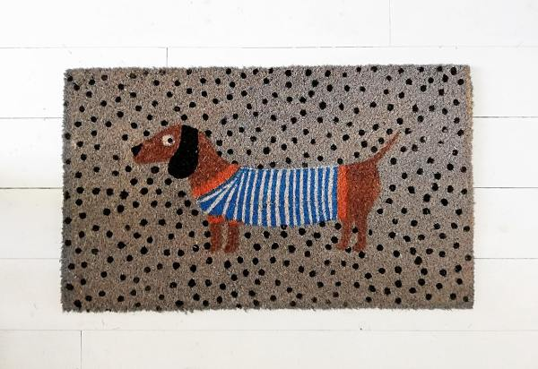 Sausage Dog Doormat
