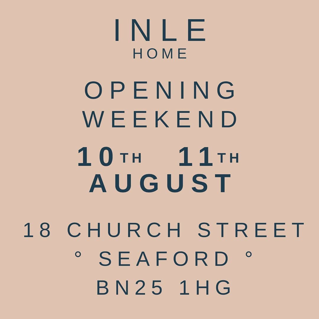 So excited to announce our opening weekend! Come and say hello at our brand new shop in sunny Seaford! There will of course be fizz 🥂 See you there!