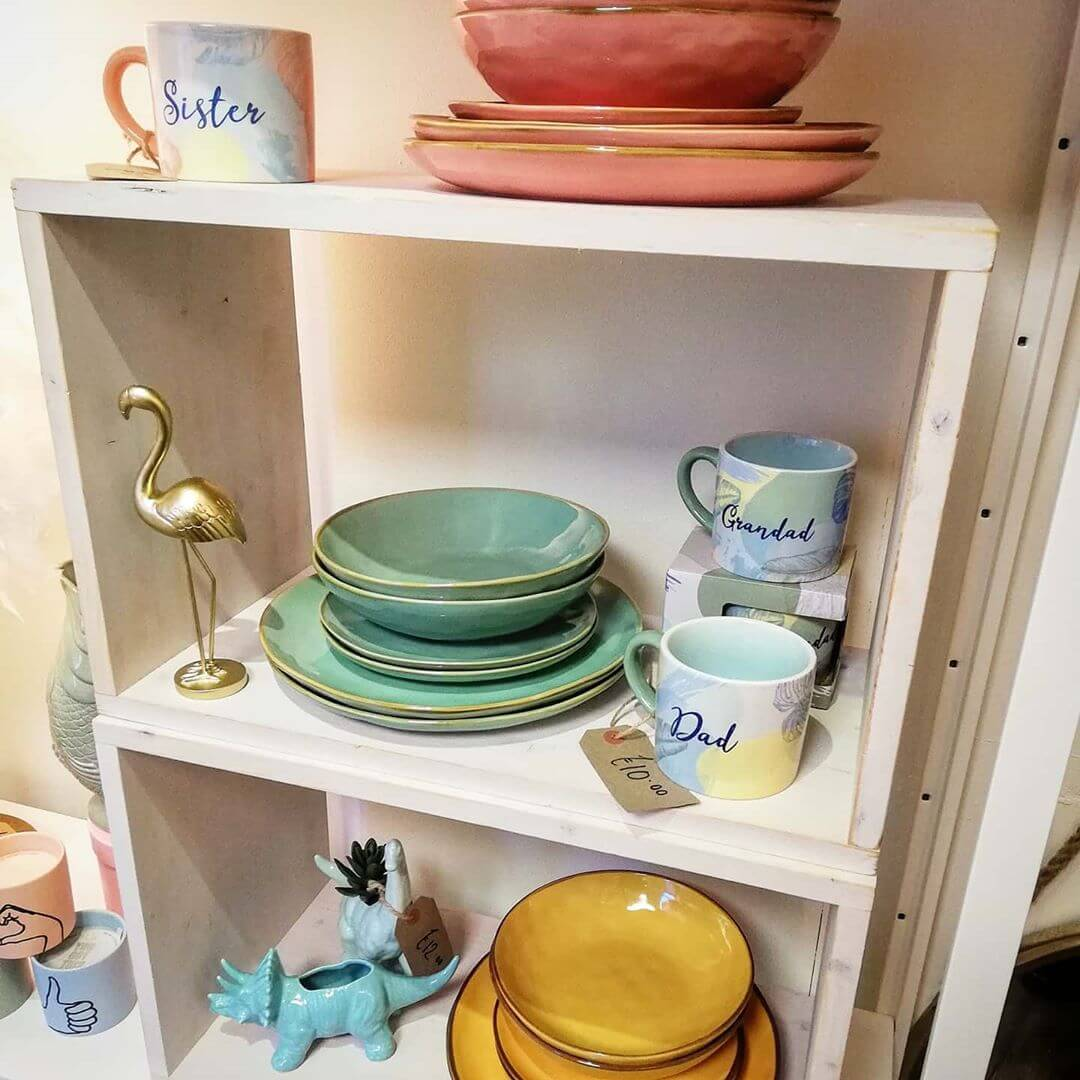 💚 Open until 5pm today! Lots of lovely new bits 😍 Gorgeous day for a mooch around town #2020