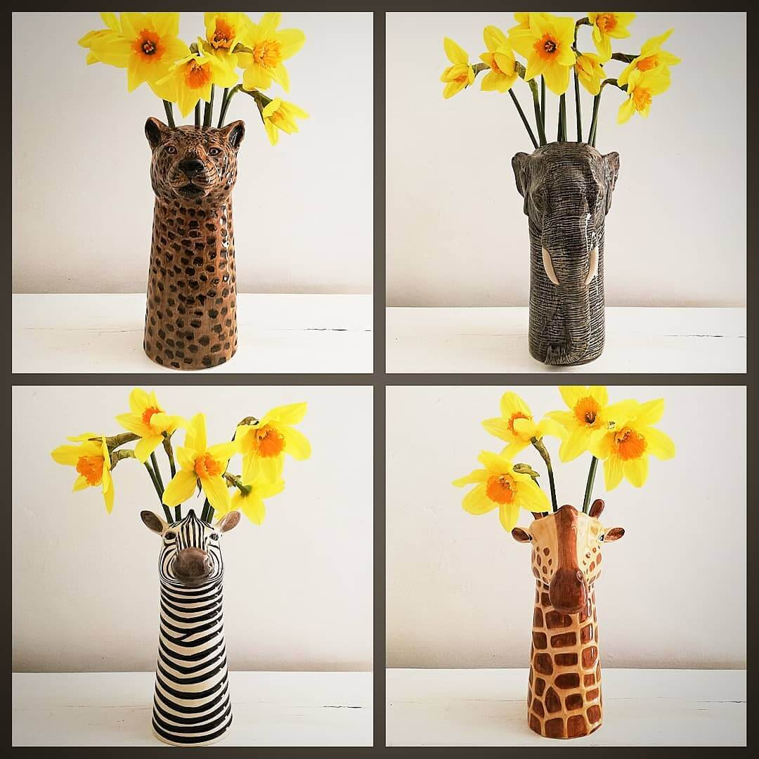 💚 So pleased to be stocking these gorgeous @quail_ceramics animal vases 💚 Online and in store now