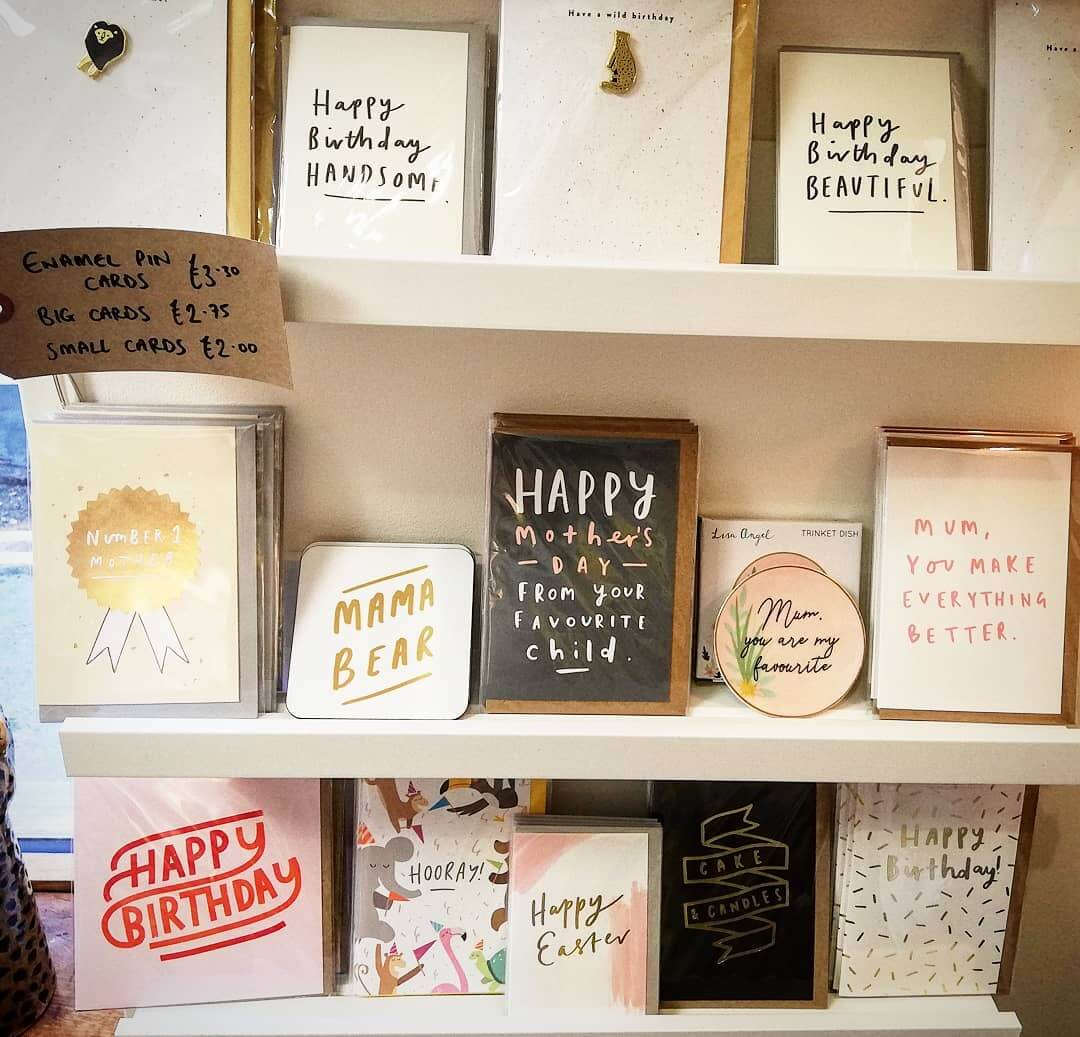 💚 It's Mother's Day on Sunday! We have some lovely cards and gifts for those amazing women💚 We are open for business as usual so please come and support a small business today. This is a really difficult time for us but together we can get through it