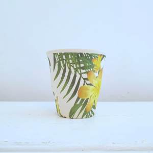 Totally Tropical Bamboo Tumbler