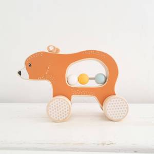 Push Along Bear by BigJigs FSC