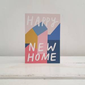 'Happy New Home' Greetings Card