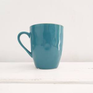 Concerto Teal Green Mug by Rose & Tulipani