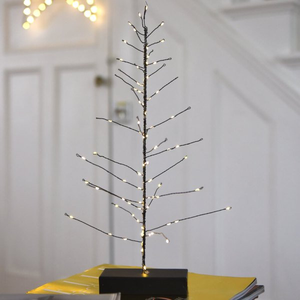 Festive Tree (Black) by Lightstyle London