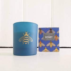 Midnight Blue Bee Scented Candle