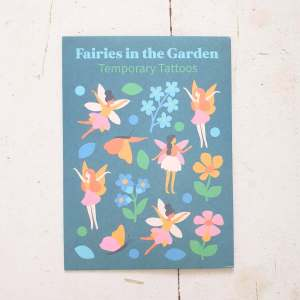 Fairies in the Garden Temporary Tattoos by Rex of London