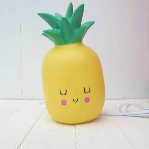 Pineapple LED light by House of Disaster