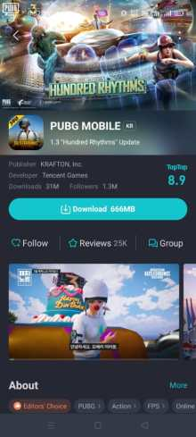 How to download PUBG Mobile 1.3 update using TapTap: Global users download link