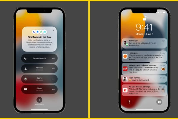 What is Focus modes and How to use it for notifications in iOS