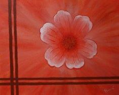 Bordered Flowers II