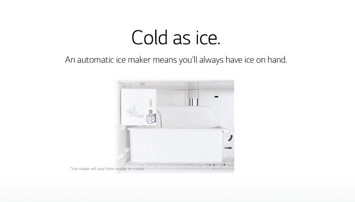 Lg Electronics 24 Cu Ft Top Freezer Refrigerator In