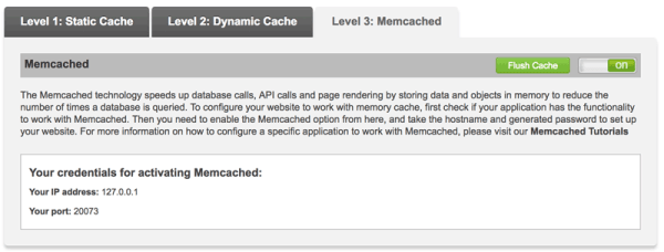 Memcached on Grow Big
