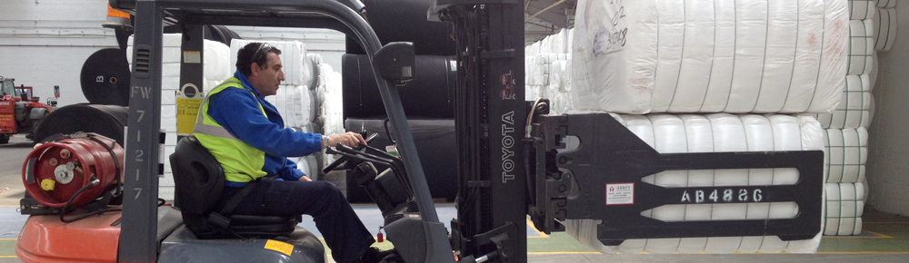 Forklift Clamp Attachment Training