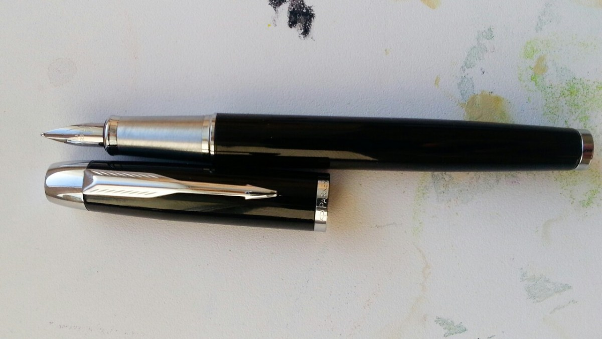 Parker IM Metal Black CT