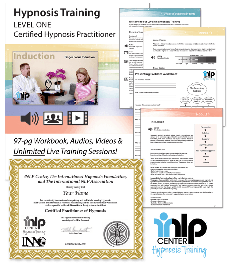 Hypnotherapy Training & Hypnosis Certification - Learn ...