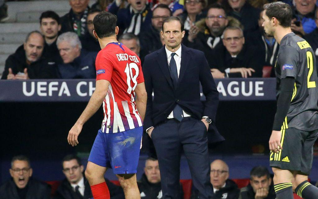 Allegri vs Atlético de Madrid