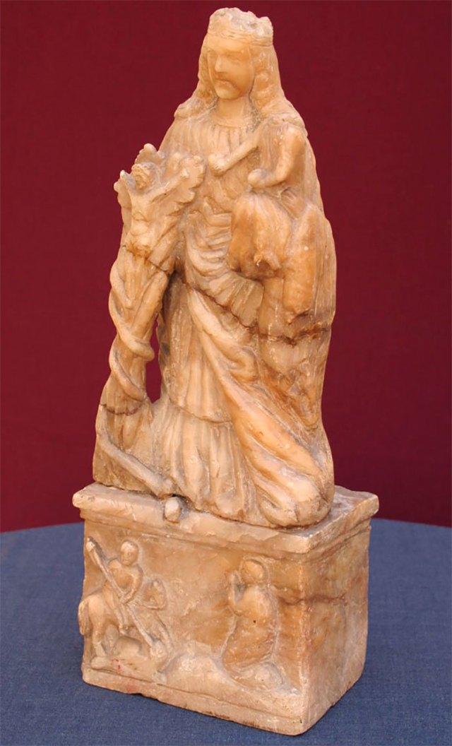 Скульптура Божої Матері з Дитям або т. зв. Гіацинтова Мадонна © ФСЛ