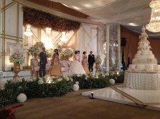 Grand Hyatt Jakarta ( look at the wedding cake )