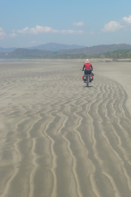 Incredible beach cycling on the Nicoya Peninsula, Costa Rica