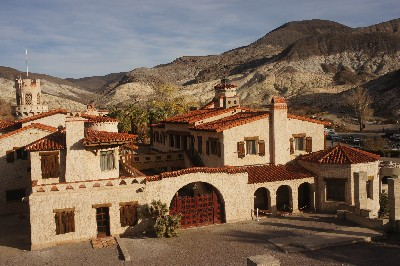 Scotty's Castle - A bit out of place