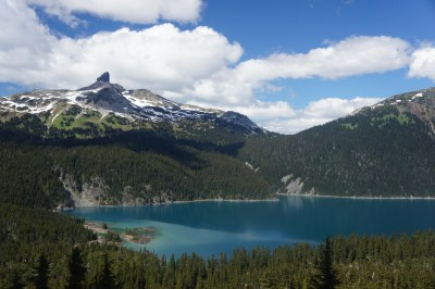 Garibaldi Lake, Battleship Islands and the Black Tusk
