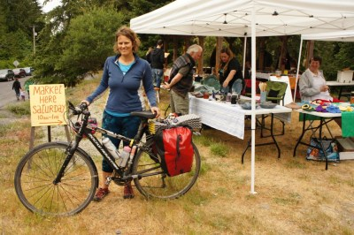 Farmer's Market on Saturna