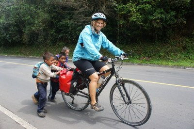 Kids are always great for interactions, and they always try to help, Nicarauga