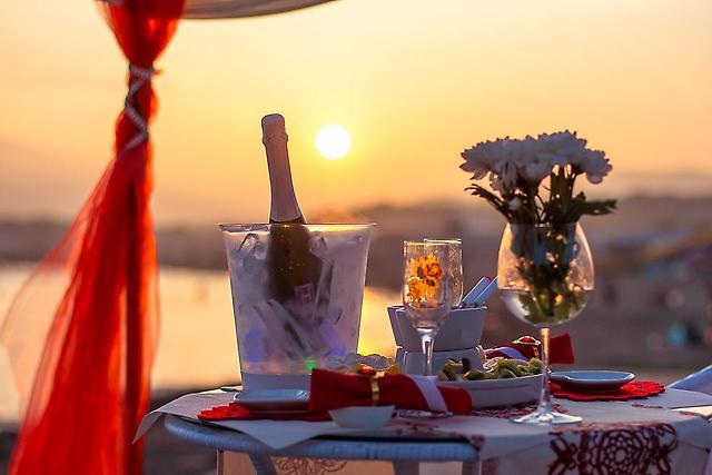 романтическое свидание на бали