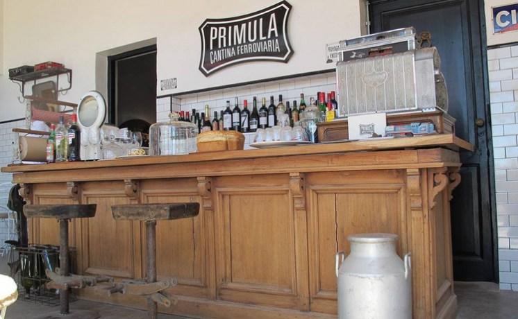 Prímula - cantina ferroviaria