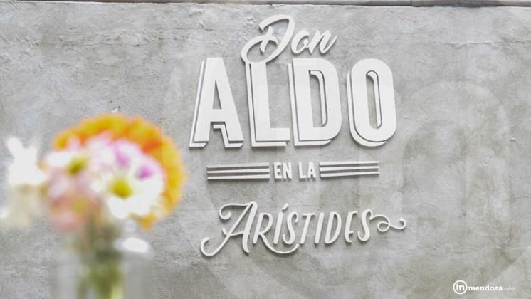 Don Aldo en la Arístides