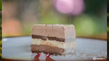 Exupéry, una torta con tres chocolates.